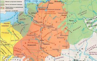 Финно-угорские и летто-литовские племена на рубеже нашей эры