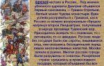 Xvii век в россии – время смуты