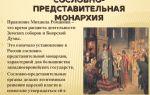 Установление династии романовых, утверждение самодержавия и крепостного права