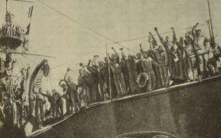 Подъем революционной борьбы летом 1905 г. и восстание на броненосце «потемкин»