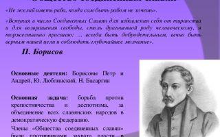 Общество соединенных славян. славянский вопрос в русском революционном движении
