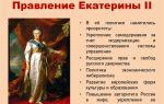 Россия во время правления екатерины ii