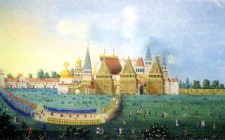 Русская культура xvii века