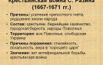 Социальные бунты середины 17 в. крестьянская война 1667 – 1671 гг.