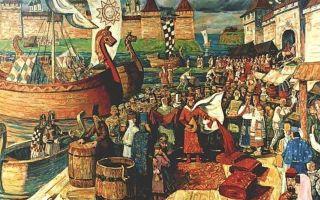Ремесло и торговля древней руси