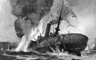 Гибель броненосца «петропавловск»