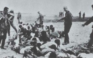 Политика геноцида и коллаборационизм